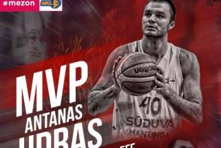 NKL pirmosios savaitės MVP - A.Udras (video,kiti naudigiausieji)