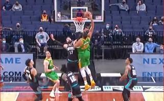Goberto dėjimas per Valančiūną – tarp gražiausių NBA momentų, viršūnėje – Granto skrydis