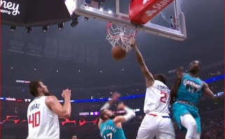 K.Leonardo dėjimas per J.Valančiūną - gražiausias NBA nakties momentas