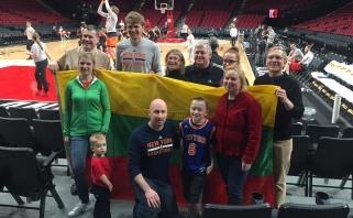 Portlando lietuviams M.Kuzminskas atskleidė, kur norėtų žaisti, ir žada atvykti į rinktinę