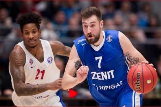 """CSKA nusileido """"Lietuvos ryto"""" varžovams ir prarado lyderių poziciją"""