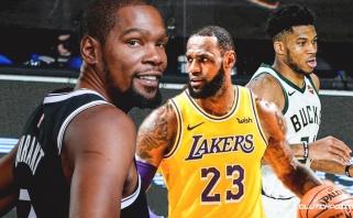Nė vienas iš ESPN apklaustų vadybininkų ir skautų neįvardijo LeBrono kaip MVP
