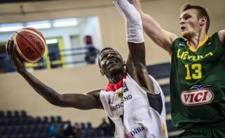 Lietuviai nusileido vokiečiams ir pasaulio čempionate liko šešti