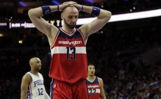 NBA: trileris Čikagoje, sensacija Filadelfijoje ir Ch.Paulo bei P.Gasolio sugrįžimas
