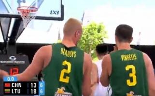 Lietuviai Pasaulio čempionate nukovė kinus
