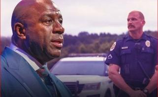 Magicas Johnsonas: iki šiol jaudinuosi pamatęs policijos automobilį