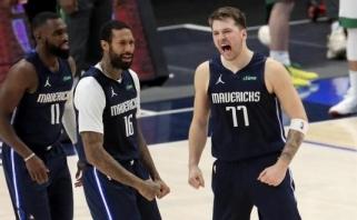 NBA lygoje – pergalę išplėšęs Dončičiaus tritaškis per du varžovus (rezultatai)