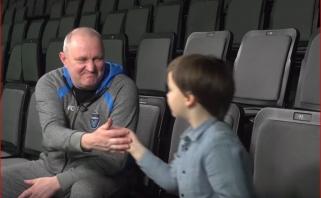 Jaunojo eksperto interviu su V.Šeškumi: kodėl, treneri, jūs visada rėkiat?