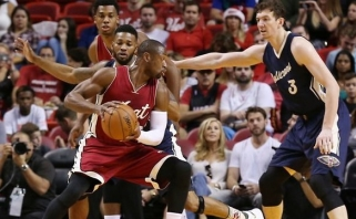 """Pirmose NBA kalėdinėse rungtynėse - """"Heat"""" dovana savo sirgaliams"""