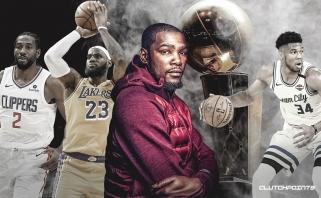 K.Durantas išprognozavo NBA finalo dalyvius bei nugalėtoją