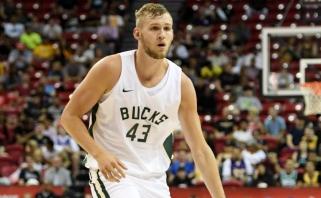 """""""Žalgirio"""" naujoko mintyse - vis dar NBA, bet nekantriai laukia naujojo sezono"""