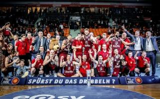 """Vokietijos taurės finale """"Alba"""" su M.Grigoniu nusileido """"Bayern"""""""