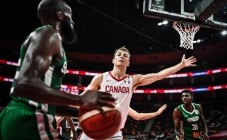 Kanada pirmąjį etapą užbaigė sutriuškindama Senegalą