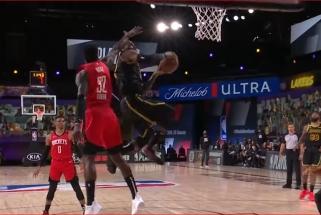 L.Jameso skrydis ir lemiamas Kh.Middletono metimas - gražiausi NBA nakties momentai