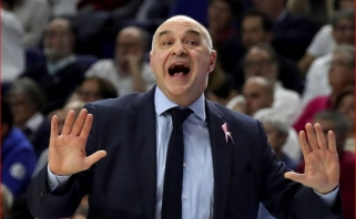 """Timberwolves"" domisi ""Real"" strategu Pablo Laso"