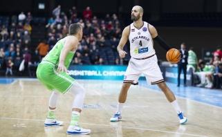 """Įspūdingas Ž.Šakičiaus žaidimas nepadėjo """"Lietkabeliui"""" laimėti prieš Italijos vicečempionus"""