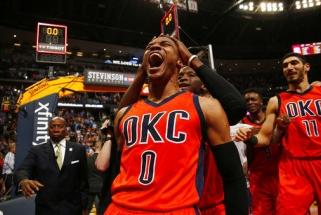 NBA išdalinti individualūs apdovanojimai, sezono MVP - R.Westbrookas