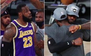 """""""Nuggets"""" stebuklai baigėsi: LeBrono trigubas dublis atvedė """"Lakers"""" į finalą"""