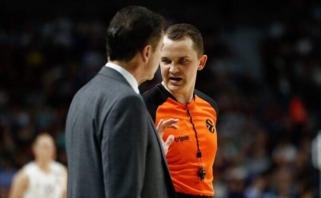 """Geriausias Lietuvos krepšinio teisėjas: turime sudarę krepšininkų """"aktorių"""" sąrašą"""