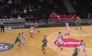"""CSKA parbloškęs """"Žalgirio"""" jaunimas - Eurolygos atrankos finale (rungtynių video)"""