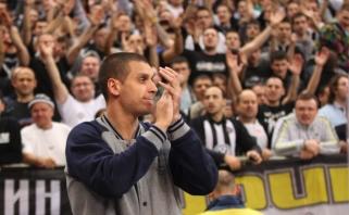 """A.Pavlovičius grįžta į """"Partizan"""""""