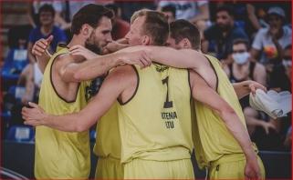 Uteniškiai nemažina apsukų - pateko į FIBA pasaulio turo trijulių finalą!