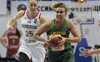 Lietuvos moterų rinktinė atsidūrė priešpaskutiniame burtų krepšelyje