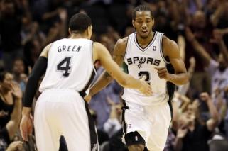 """D.Greenas: kai K.Leonardas atėjo į """"Spurs"""", jis buvo panašus į mokslinį eksperimentą"""