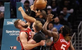 """Sezono antirekordą pasiekusiems """"Raptors"""" - itin skambus antausis"""
