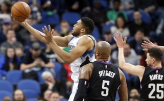 NBA naktis: istorinis K.Townso pasiekimas ir besitęsianti Majamio pasaka