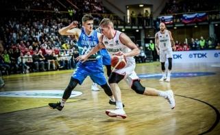 Slovėnija Europos čempionato atranką pradėjo dramatiška nesėkme (rezultatai)