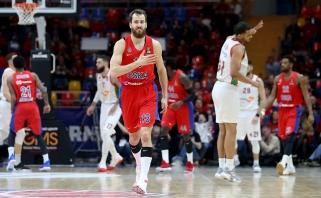 CSKA Eurolygos ketvirtfinalį pradėjo triuškinančia pergale