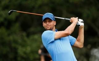 S.Curry dalyvavo golfo profesionalų turnyre - užėmė paskutinę vietą
