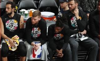 """Motiejūno sezonas baigtas, dramatiškame trileryje bilietą į pusfinalį išplėšė """"Nuggets"""""""