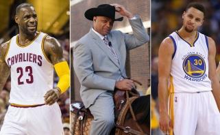 Ch.Barkley: S.Curry nepatenka į geriausių NBA žaidėjų ketvertuką