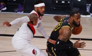 """""""Lakers"""" – per žingsnį nuo kito etapo, """"Thunder"""" išlygino rezultatą"""