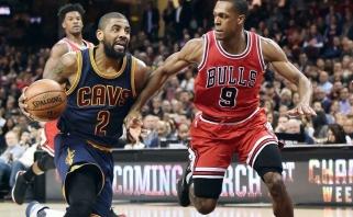 """NBA: čempionai be L.Jameso žaidžia beviltiškai, """"Warriors"""" užsitikrino vietą atkrintamosiose"""