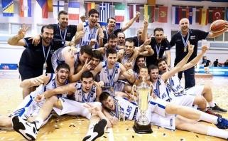 Lietuvius pusfinalyje įveikę graikai - Europos čempionai