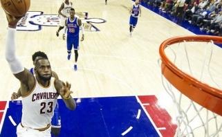 "B.Griffinas paskandino ""Spurs"", o L.Jamesas aplenkė dar vieną NBA legendą"