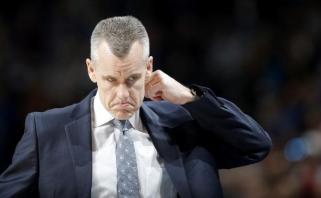"""Po sėkmingo sezono netikėtas posūkis: """"Thunder"""" nepratęs kontrakto su treneriu"""