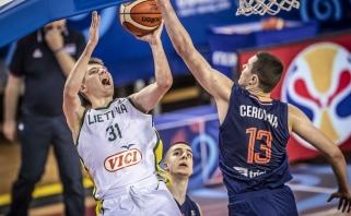 Žalgiriečių vedama U 19 rinktinė įveikė serbus ir pateko į pasaulio čempionato pusfinalį