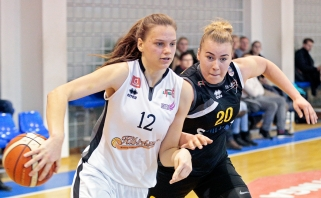 LMKL savaitės žaidėja tapo trigubą dublį užfiksavusi L.Juškaitė