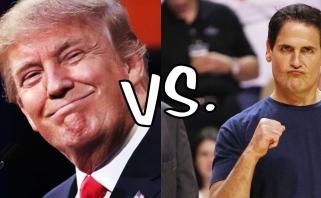M.Cubanas: galimybė, kad bolotiruosiuosi į JAV prezidentus, tėra 10 proc.