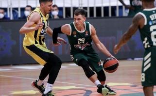 Eurolygos turo MVP - tritaškiais pratrūkęs N.Nedovičius