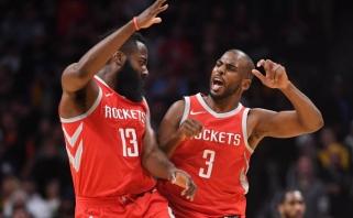 """Ch.Paulas paneigė gandus, kad paprašė """"Rockets"""" iškeitimo"""