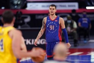 Sirvydis pataikė pirmą karjeros NBA tritaškį (visi rezultatai)