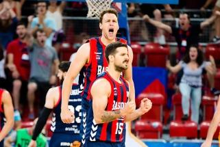 """""""Baskonia"""" per plauką pateko į pusfinalį, T.Sedekerskis solidžiai išnaudojo savo laiką"""