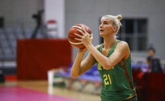 Moterų rinktinė iškovojo pirmą pergalę - sutriuškino baltaruses (trenerio komentaras)