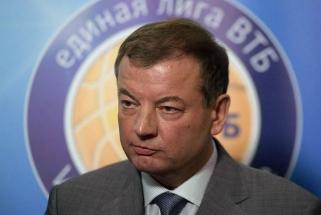 """VTB lygos prezidentas: tikimės, kad """"Chimki"""" sugebės išspręsti problemas"""