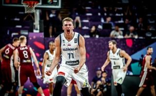 """Latvių žygį """"Eurobasket 2017"""" nutraukė slovėnai"""